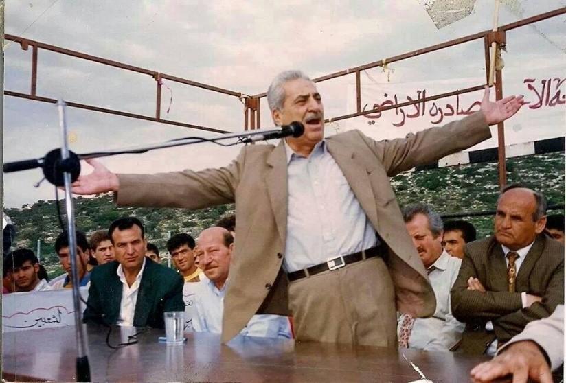 תופיק זיאד, ראש עיריית נצרת לשעבר (צילום: אל אתיחאד)
