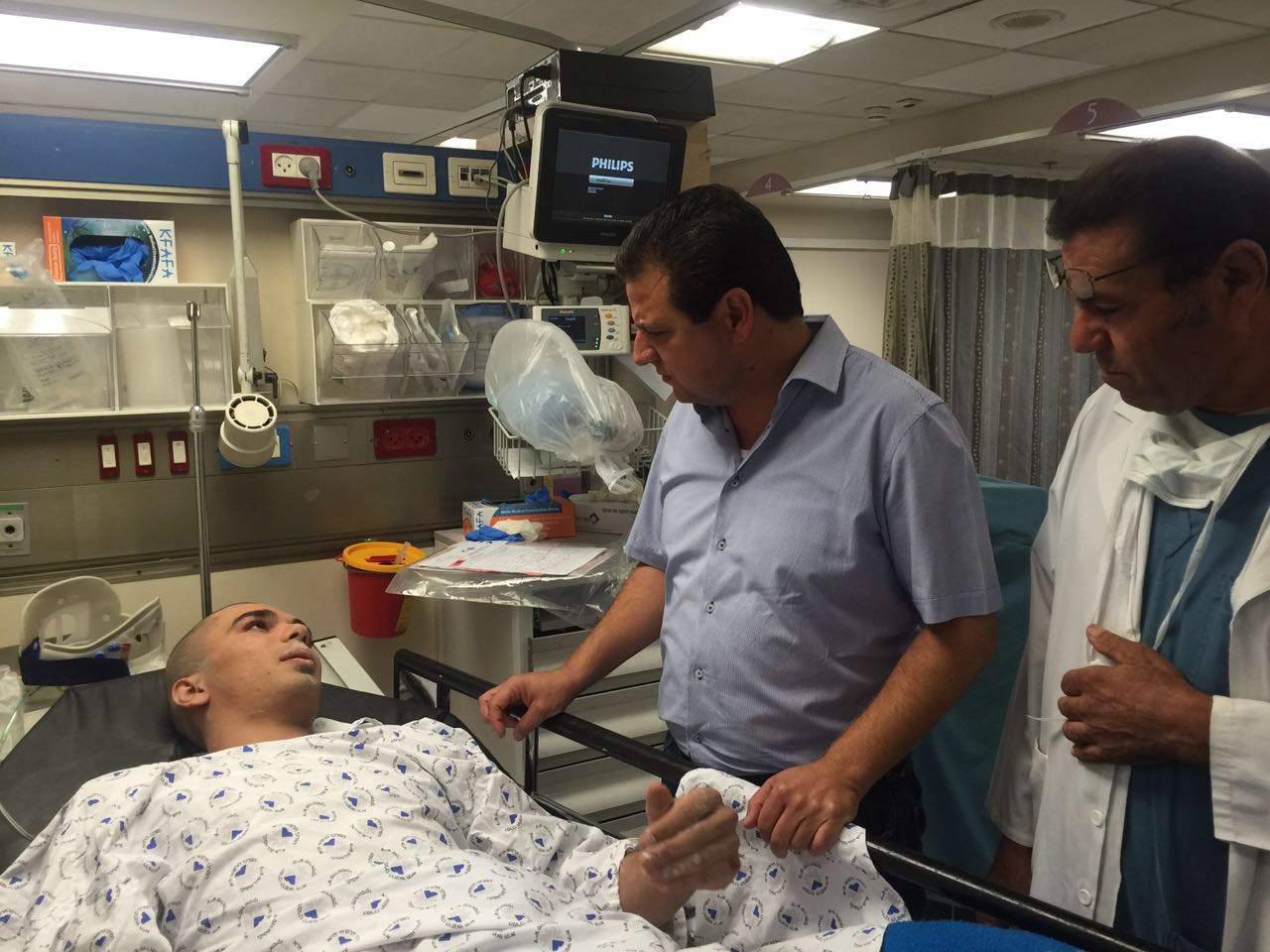 ayman with injured worker