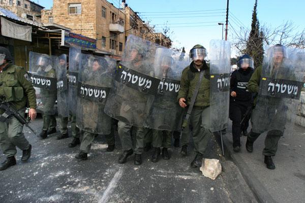 אלכס ליבק - מזרח ירושלים, ינואר 2009